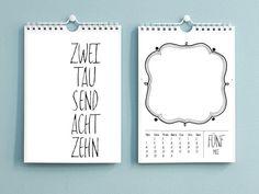 Jedes Jahr wieder eine schöne Geschenkidee, einen ganz persönlichen Kalender zu gestalten, aber jedes Jahr steht man wieder vor diesen langweiligen Kalendern im Schreibwarenladen und wünscht sich...