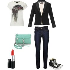 """urban rock"" by vincentjanvier on Polyvore"