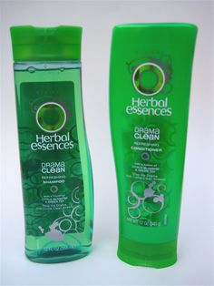 Herbal Essence leaves me with a clean feel and silky-smooth hair!