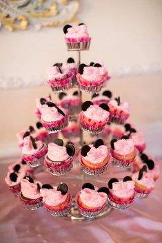 sophi parti, birthday parties, party cupcakes, 1st birthday, first birthdays, parti idea, mous parti