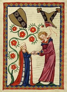 From the Codex Manesse