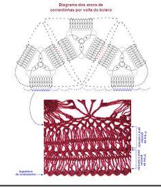 Crochê de Grampo e Outras Técnicas com Helen Mareth : Aula na TV - Bolero/ Casaquinho em Crochê de Grampo - Programa Mulher.Com