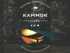 Kammok Glider: Rain Tarp & Weather Relief Shelter Redefined by The KAMMOK Team — Kickstarter