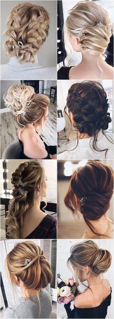 Featured Hairstyle: tonyastylist (Tonya Pushkareva); www.instagram.com/tonyastylis; Wedding hairstyle idea.