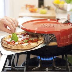 Stovetop Pizza Oven with Pizza Peel | Huckberry