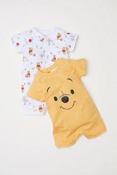 3f735d9f856 2-pack Jumpsuits - Yellow Winnie the Pooh - Kids