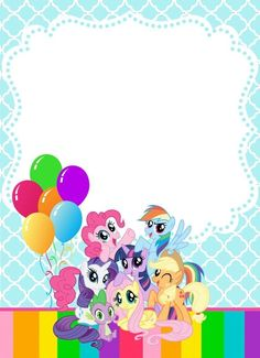 Resultado de imagen para my little pony personajes