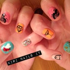 Hen do nails... shoot me now.