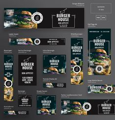 Find out how to make a banner in Photoshop with shape layers and layer designs. Use these skills to . Create a web banner. Food Graphic Design, Food Poster Design, Menu Design, Food Design, Layout Design, Blog Layout, Banner Design Inspiration, Web Banner Design, Web Banners
