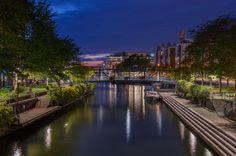 Ruoholahti canal - Helsinki