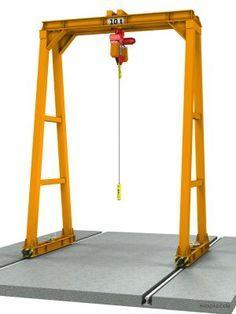 10t DIY Gantry crane design Metal Projects, Welding Projects, Stem Projects, Gantry Crane, Crane Lift, Lift Design, Design Design, Seating Plan Wedding, Seating Plans