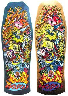 Santa Cruz Skate Art by Jim & Jimbo Phillips - Sublime99