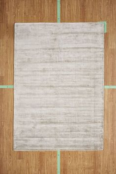 "5' 3"" x 7' 7"" Ivory Solid Soft Contemporary Handloom Area Rug Modern"