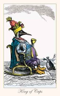 Fantastic Menagerie Tarot King of Cups