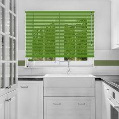 Forest Green Venetian Blind