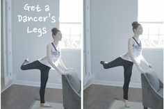 Get A Dancer's Legs- a 10 minute ballet routine for slim legs and toned bum. Super addicted to this routine! (I HAVE THIS BUT OH WELL! Post Baby Workout, Bum Workout, Ballerina Workout, Dancer Legs, Fitness Trail, Ballet Body, Dance Technique, Physical Fitness, Get In Shape