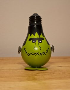 halloween light bulb ornament frankie by bikisbootique on etsy 700 lightbulb crafts pinterest light bulb bulbs and ornament - Halloween Light Bulbs