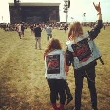 Image result for metal couples tumblr
