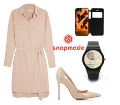 """""""2#snapmade"""" by comicdina ❤ liked on Polyvore featuring Equipment and Gianvito Rossi"""