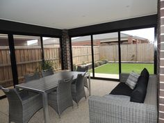 Create an outdoor room turn your Veranda, Pergola or Alfresco area into another living zone