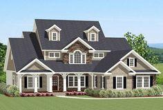 Dynamite Curb Appeal - 46262LA | Architectural Designs - House Plans