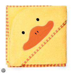 bol.com | Skip Hop - Zoo capuchon handdoek Eend - Geel | Baby