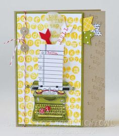 SUO Tap Tap Tap Blendabilities by 1stampingnightowl - Cards and Paper Crafts at Splitcoaststampers