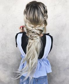 """1,111 Likes, 17 Comments - Braids & Bridal (@taylor_lamb_hair) on Instagram: """"Here's to 2 years of having this account!💕Thank you to all of my followers & supporters! My love…"""""""