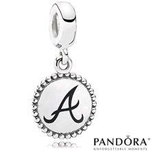 Atlanta Braves MLB Dangle Unforgettable Moment Charm by PANDORA® Jewelry