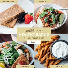 This is Day 2 of the Goodful Two-Week Healthy Eating Challenge. Click here to get a rundown of the whole program.