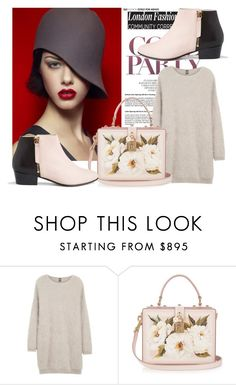 """""""cool party"""" by century-fashion ❤ liked on Polyvore featuring Anja, Eleventy, Dolce&Gabbana and Nine to Five"""