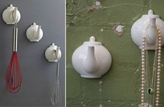 For those of you that know how to cut a teapot in half without smashing it all over the place....  For the rest of us, aww it's pretty - Click image to find more DIY & Crafts Pinterest pins