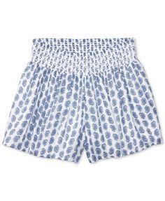 Ralph Lauren Paisley-Print Shorts, Big Girls (7-16)