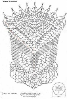 Nappes & napperons au crochet - Le monde-creatif                                                                                                                                                                                 Plus