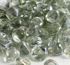 Premium Collection of Rain Drop Luster Zircon Fire glass
