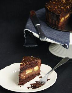 kucukceycey | Çikolata Muslu Muzlu Pasta