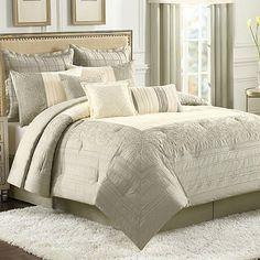 Hamilton 4-Piece Comforter Set - BedBathandBeyond.com