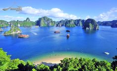 Hạ Long Bay, in northeast Vietnam, is known for its emerald waters and thousands of towering limestone islands topped by rainforests. Junk boat tours and sea kayak expeditions take visitors past islands named for their shapes, including Stone Dog and Teapot islands. The region draws scuba divers, rock climbers and hikers, the latter favoring mountainous Cát Bà National Park.  #HalongBay #Adventure #Travel #Vietnam  www.indochinastrings.com