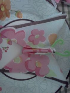 Butterfly Party -  folded napkins
