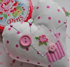 sweet pin cushion