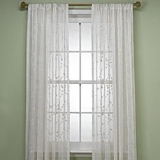 image of B. Smith Bermuda Ivory Window Panels