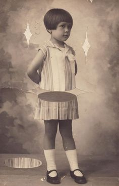Mischief_Switched vintage photo