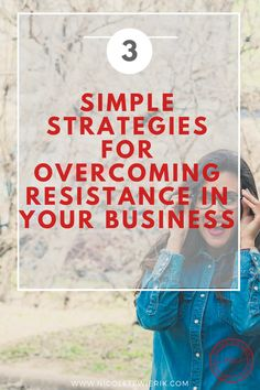 How to overcome resistance when it's you getting in your way! Business Goals, Business Entrepreneur, Business Branding, Business Tips, Online Business, To Move Forward, Helping Others, Read More, Distance