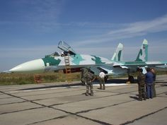 "Eritrean Air Force Sukhoi Su-27 ""Flanker"""