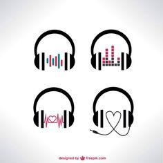 Music headphones art heart ideas for 2019 Music Tattoos, Body Art Tattoos, Tatoos, Dj Tattoo, Headphones Tattoo, Music Headphones, Tattoo Painting, Photos Hd, Music Drawings