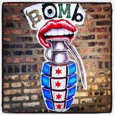 Urban Art, Pilsen, Chicago #pilsen #pedicabpronto #deacm