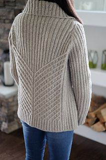 Ravelry: Emily pattern by Emily Greene, textured cable knitting pattern, cardigan Ladies Cardigan Knitting Patterns, Knit Cardigan Pattern, Knitting Patterns Free, Knit Patterns, Knitting Tutorials, Stitch Patterns, Cable Knitting, Knitting Stitches, Knitting Designs