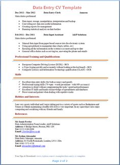 how to creat a resume
