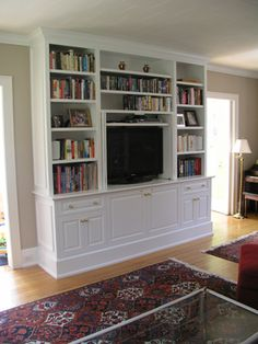 Tony O Malley Custom Woodworking Home Pinterest Tv Bookcase And Built Ins