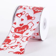 Valentine Ribbon Red ( 2.5 Inch x 10 Yards)